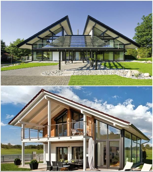 Если планируете строительство, то лучше отдать предпочтение фахверковым домам.