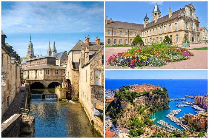 Самые прекрасные маленькие города Франции.