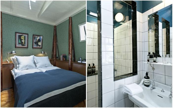 Самый миниатюрный отель мира имеет площадь 12 кв. м («Central», Копенгаген).   Фото: adventurerinyou.com/ cremeguides.com.