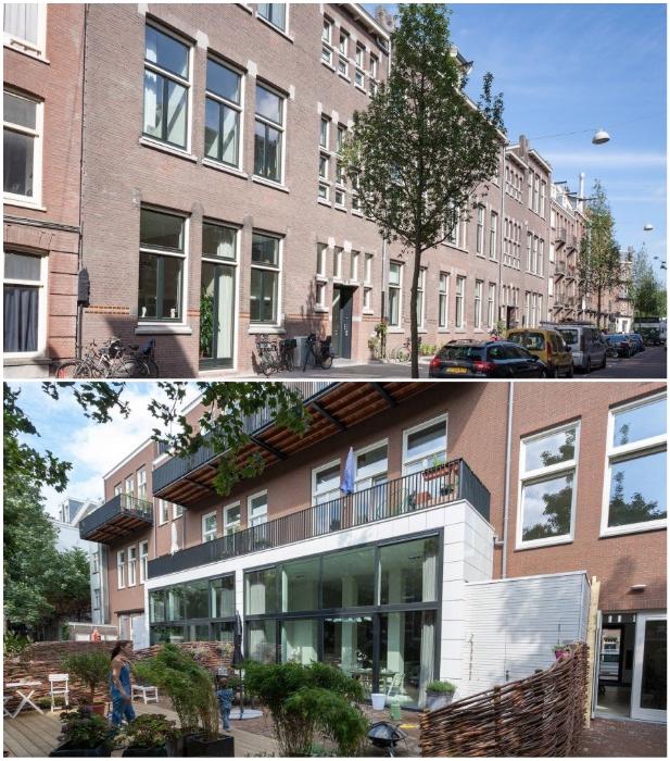 Старинное школьное здание с тихим внутренним двором превратили в жилые апартаменты. | Фото: inhabitat.com.