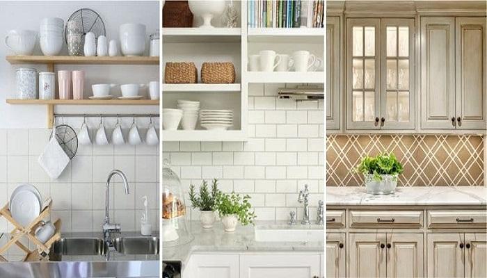 Кухонный фартук задает тон и нужную атмосферу всей кухнею