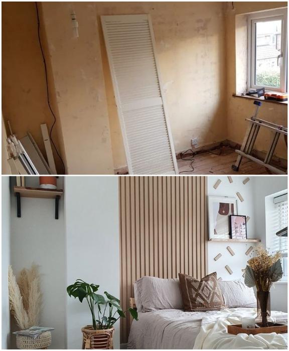 Даже такую неприглядную комнату можно изменить до неузнаваемости при минимальных затратах. | Фото: hertfordshiremercury.co.uk/ instagram.com, © at.home.with.missb.