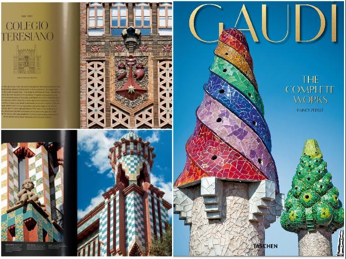 Вышла в свет новая книга, в которой собрана коллекция причудливых архитектурных шедевров Антонио Гауди. | Фото: thisiscolossal.com/ finnishdesignshop.com.