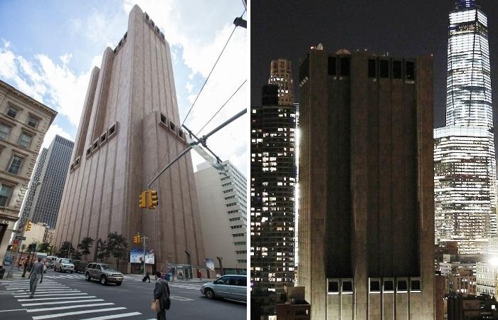 Таинственный небоскреб в сердце Манхэттена всегда вызывал любопытство и недоумение (США, Нью-Йорк). | Фото: samsebeskazal.com.