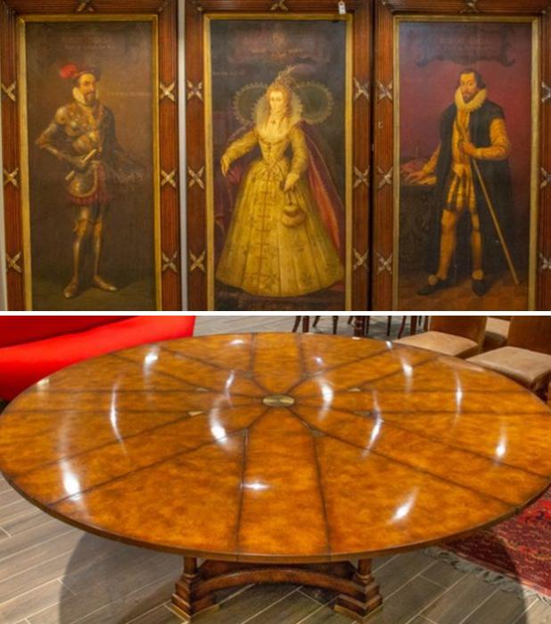 Дизайнерская мебель и редкие картины были обнаружены в особняке-сарае мошенника и наркоторговца Алана Йоманса. | Фото: bbc.com.