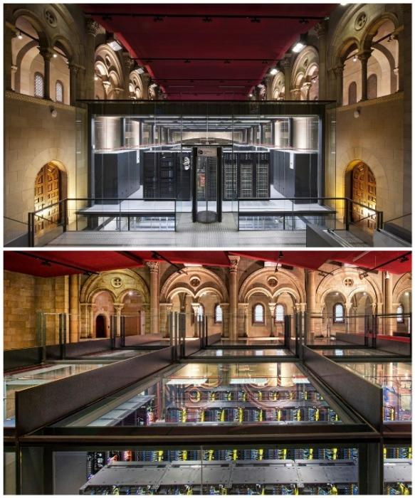 Часовня Торре Гирона стала идеальным местом для размещения крупнейшего суперкомпьютера Европы MareNostrum (Барселона, Испания). | Фото: varlamov.ru