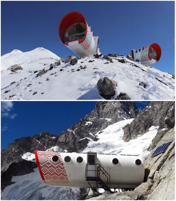 Экоотель LeapRus расположен на южном склоне Эльбруса (Кабардино-Балкарская Республика). | Фото: wsjournal.ru.