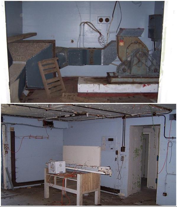 В таком состоянии были помещения бункера на момент покупки. | Фото: lavozdelmuro.net.