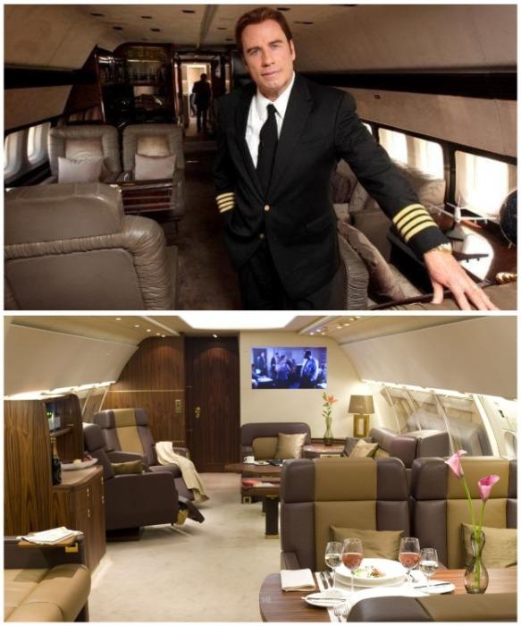 Джон Траволта владеет 5 самолетами и сам управляет ими. | Фото: pinterest.co.uk.