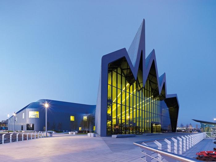 Музей транспорта Риверсайд (Глазго, Великобритания) | Фото: оldtimer.ru.