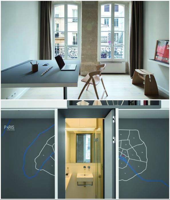 Квартира-трансформер: на 16 кв. м можно создать комфортное пространство для жизни и работы.
