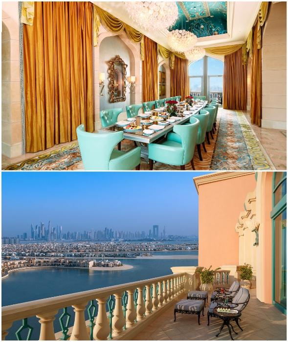 Гостей Royal Bridge Suite ждут комфортные условия проживания и превосходный вид.