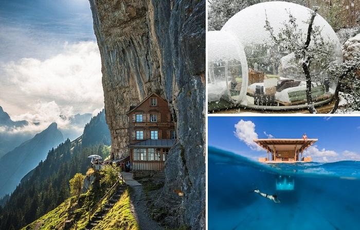 Самые невероятные отели мира.