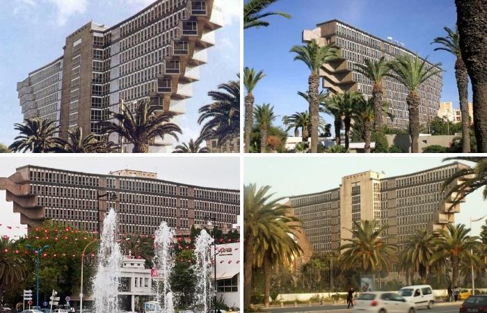 Активисты бьют тревогу и пытаются сохранить самый узнаваемый и необычный отель страны (Hotel du Lac, Тунис). | Фото: matadornetwork.com.