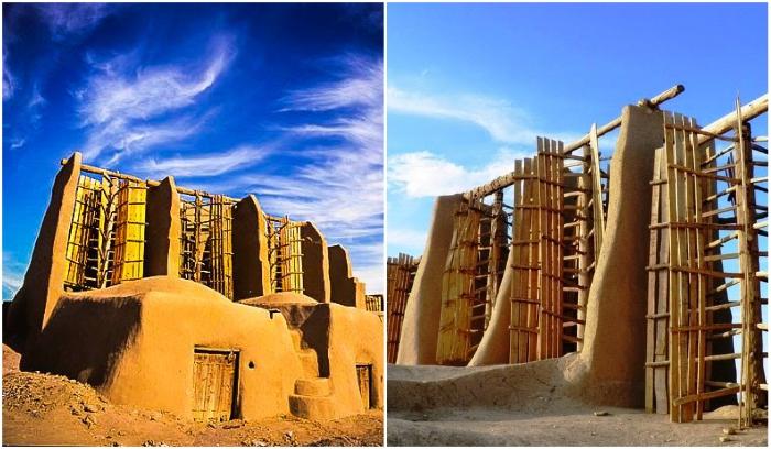 Иранскую ветряную мельницу, которая работает уже более полутора тысяч лет, ждет незавидное будущее (Nashtifan). | Фото: persiantourismguide.com/ layohn.com.
