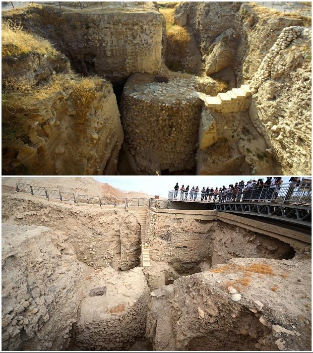 Загадочная башня Иерихона расположена в одном из древнейших поселений мира – в деревне Тель-Иерихон (Палестина).