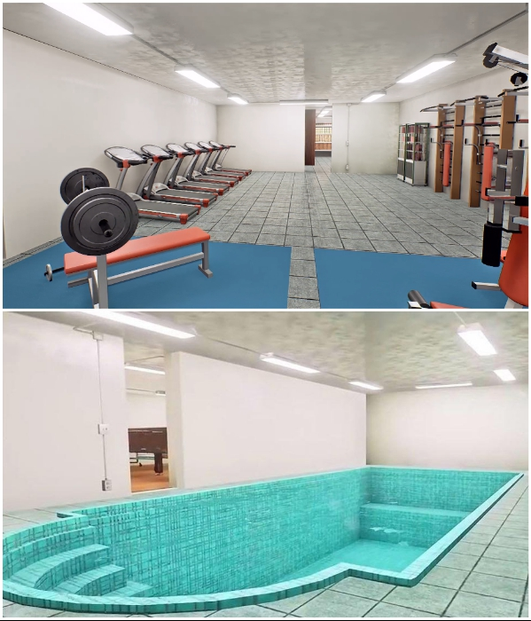 Компания Rising S Bunkers предлагает своим состоятельным клиентам полностью благоустроенные подземные комплексы. | Фото: forbes.ru.