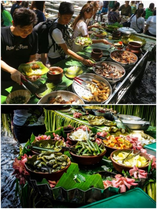 В необычном ресторане можно насладиться местными аутентичными блюдами филиппинской кухни. | Фото: clevinjensen.com/ vigattintourism.com.