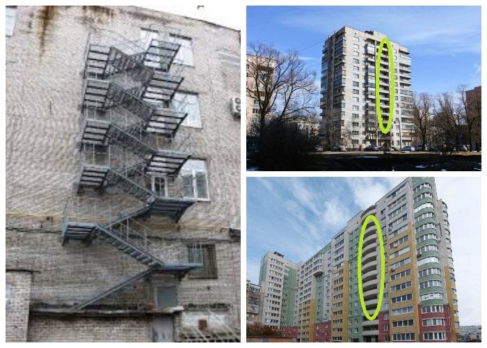 При строительстве домов выше 9 этажей должны создаваться незадымляемые лестницы.