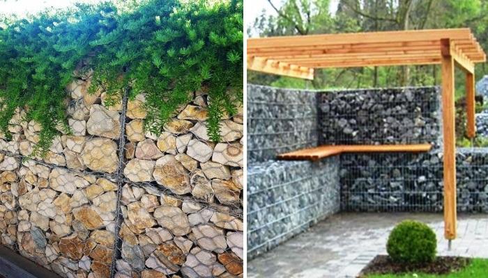 Чтобы стена прослужила долго и была надежной опорой, нужно правильно заполнять конструкцию. | Фото: gabioncanada.com.