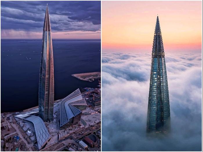 Фантастическая красота и внедрение инновационных технологий превратили «Лахта-центр» в строение будущего.