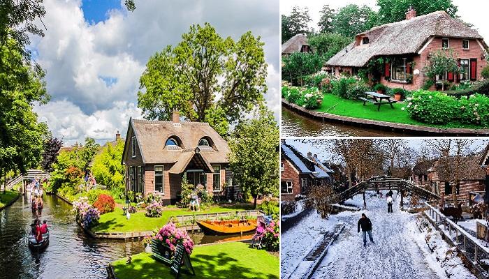 Деревня Гитхорн - самое необычное место всей Европы.