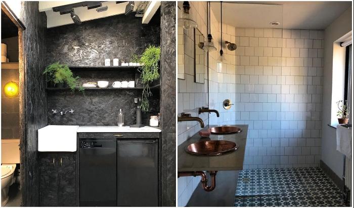 Каждая ванная комната имеет свою изюминку. © Michaela | The old piggery.