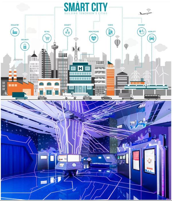 Грамотно управляемые «умные» города значительно повышают качество жизни. | Фото: v-pravda.ru/ inno-institute.com.
