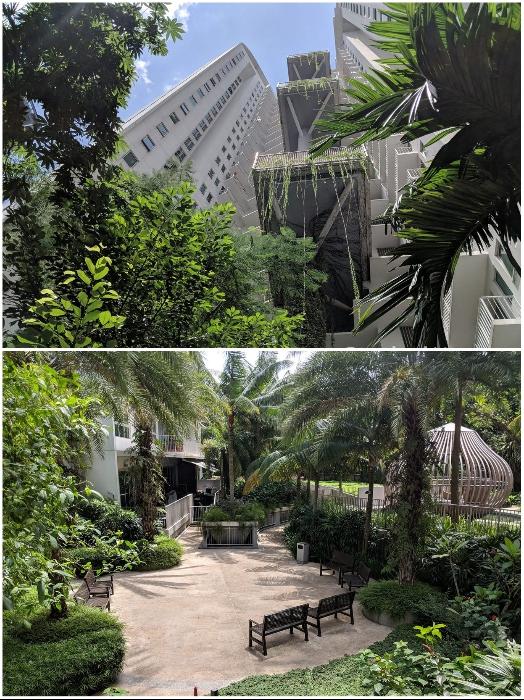 Жилой комплекс утопает в зелени («Tree House», Сингапур). | Фото: stackedhomes.com.