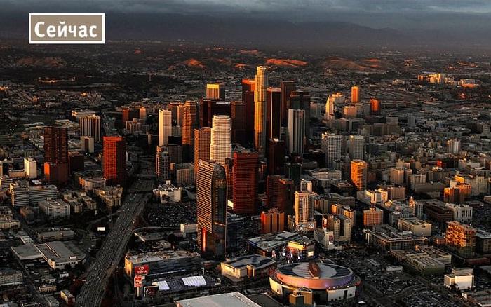 Значительные изменения в архитектуре современного Лос-Анджелеса.