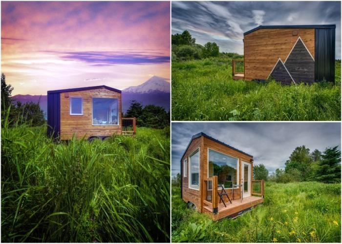 Американская компания Backcountry Tiny Homes разработала мини-апартаменты Acorn (желудь) площадью 8,3 кв.м. | Фото: backcountrytinyhomes.com.