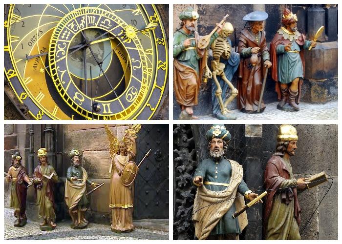 Не только часы украшают фасад ратуши, но и очаровательные фигурки.