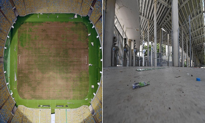 Заброшенный стадион Маракана – один из крупнейших в мире, был реконструирован перед Олимпиадой, и обошлось это бразильской казне в 400 млн. долларов.