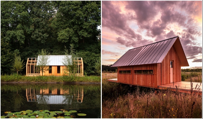 В модели садового домика изменилось расположение окон (Garden House и Cabin ANNA).