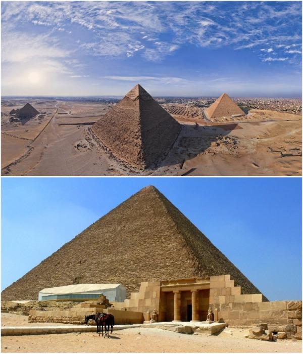 В Египте официально празднуется дата начала строительства Great Pyramid of Giza – 23 августа 2560 г. до н.э (точной даты неизвестно). | Фото: planetofhotels.com.
