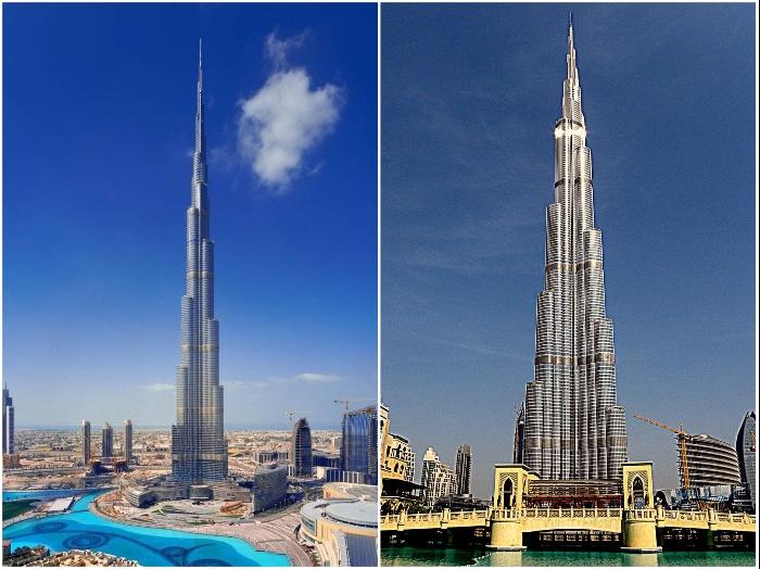 Небоскреб Бурдж-Халифа в Дубай построен по всем правилам сейсмостойкости высотных зданий. | Фото: katarina.sheremet.ch/ mentamore.com.