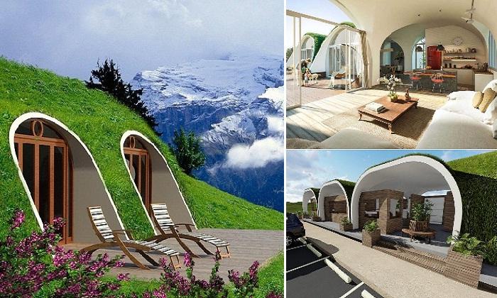 Благодаря технологиям Green Magic Homes можно создать полноценное жилье.