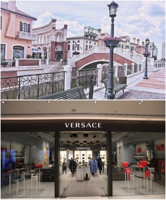 Площади, парки и даже магазины Florentia Village имеют традиционный итальянский вид (Тяньцзинь, Китай). | Фото: tripadvisor.ru.