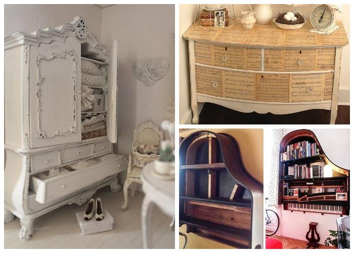 Неожиданные идеи для реставрации мебели.
