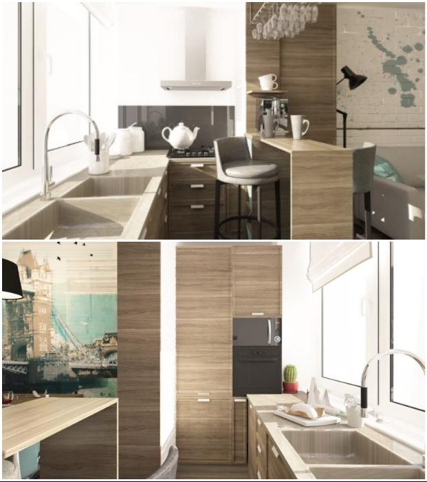 Такие кардинальные изменения могут позволить лишь жители первого этажа и то не во всех типах домов.