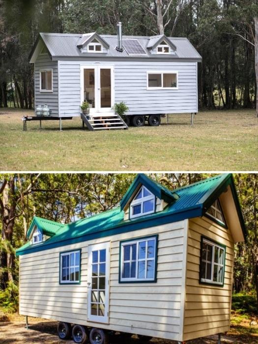 Дизайн экстерьера и интерьера клиент выбирает на свое усмотрение. | Фото: youtube.com/ Designer Eco Tiny Homes.