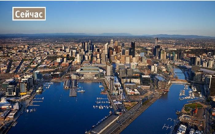 Современный Мельбурн поражает своими преобразованиями.