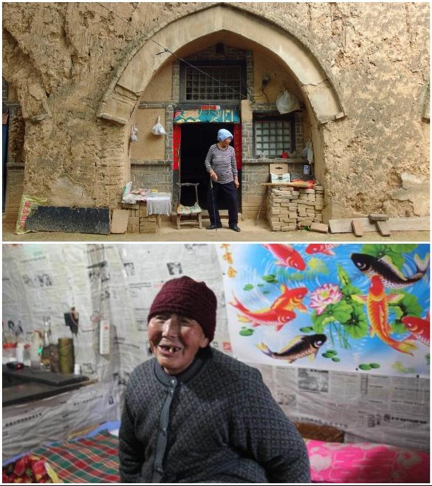 Старейшая подземная деревня на Лёссовом плато приходит в упадок (Китай). | Фото: pastuh83.livejournal.com.