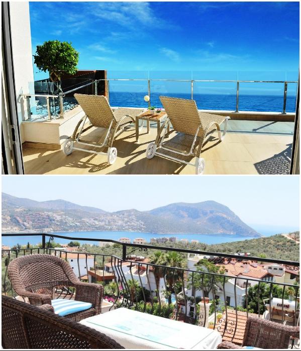Практически в любом уголке Турции можно найти квартиру с восхитительным видом с террасы/балкона. | Фото: prian.ru/ pinterest.com.