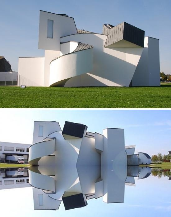 Музей мебели и дизайна Vitra в Вайле-на-Рейне (Германия). | Фото: delovoy-kvartal.ru.