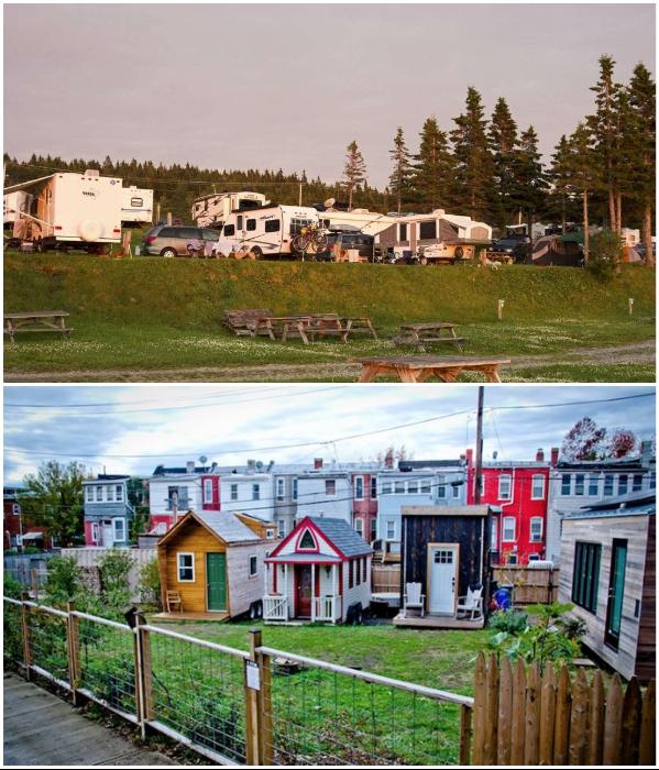 Устанавливать мини-апартаменты можно в строго отведенных местах или получать разрешения в соответствующих органах города. | Фото: fb.ru/ peoriapublicradio.org.