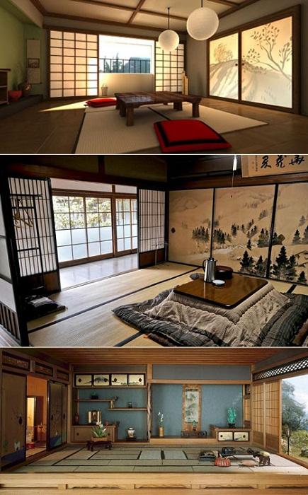 «Красота в малом» — главный критерий в оформлении японского дома.