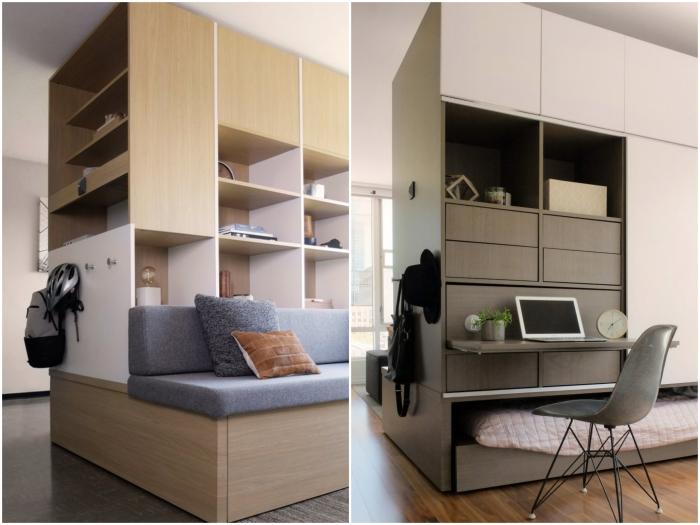 Многофункциональный мебельный модуль с внедренной умной системой может упростить жизнь. | Фото: 24gadget.ru.