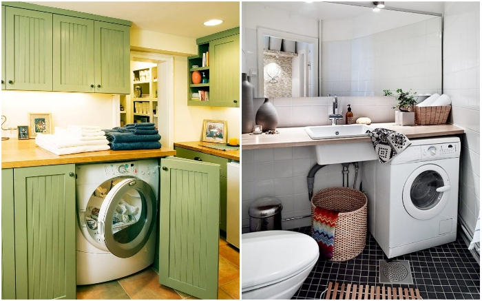 На работе стиральных машин тоже можно экономить.