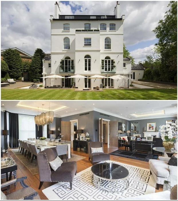 Арендуемый роскошный особняк в Лондоне (Великобритания).